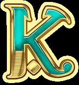 K Symbol On Book Of Dead